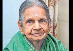 92 year old lady claims to have survived without water