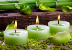 green diwali options upcycled candle moulds sandstone diyas