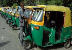 ncr autos without gps electronic fare meter not to ply in