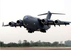 3 c 17 globemaster aircraft of iaf clocked 150 hours in