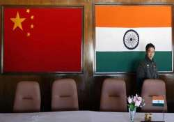 indian chinese officers meet to resolve border stand off