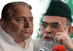 mulayam placates bukhari cleric s son in law to get lc seat