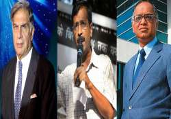 narayana murthy tops list of india inc donors for kejriwal