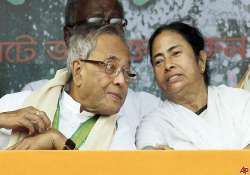 pranab downplays mamata pullout threat