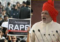 narendra modi on rape cases why parents always question