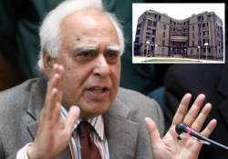 sibal working on 3d technology for school admissions