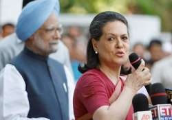 sonia gandhi takes over party reins chairs cec meeting