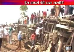 5 killed 50 injured as 7 coaches of doon express derail