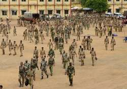 60 000 paramilitary personnel to be deployed for assembly