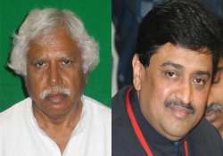 congress fields mistry to take on modi tainted ashok chavan
