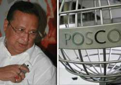 congress demands relocation of posco s proposed plant site