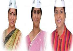 delhi assembly gets only 3 women members all belong to aap