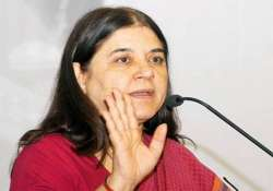 maneka says her remarks on sex determination tests personal
