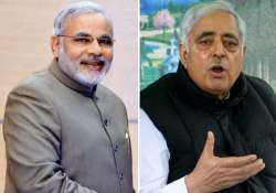 j k govt formation pdp patron mufti mohammed sayeed meets- India Tv