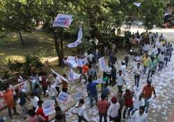 dusu elections abvp ahead in all four seats