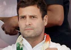 rahul gandhi to review performance of 8 pcc presidents