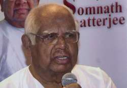 fear of emergency is still there somnath chatterjee