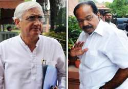 khurshid made sub quota statement as politician not