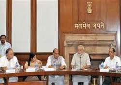modi meets ministers stresses efficient governance