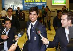 england land in australia for ashes series