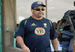 icc official david boon inspects ranchi stadium