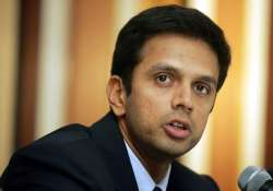 india should hope that wickets remain slow during wc dravid