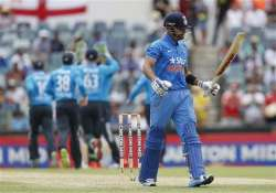 tri series 2015 england bowls out india for 200 6th odi