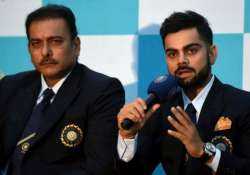 respect dhoni s selfless act wait for kohli to grow shastri