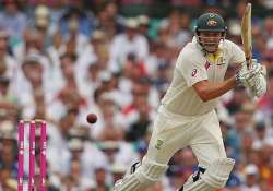 aus vs ind australia declared at 572/7 in first innings 4th