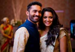 in pics dinesh karthik ties the knot with dipika pallikal