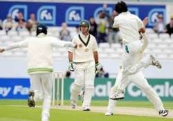 stunned australia all out for 88 vs pakistan