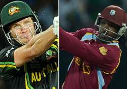 it s gayle versus watson as windies take on aussies