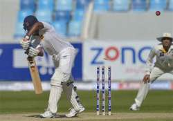pakistan sri lanka series 2nd test sri lanka beat pakistan