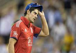 series of defeats may force cook to step down as odi captain