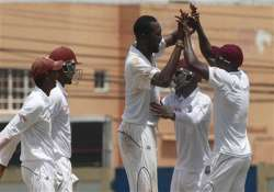 west indies in sight of victory nz 8 down