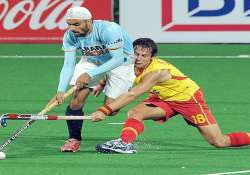 india spain share six goals in vibrant first test