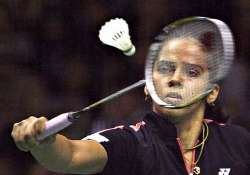erratic saina ends runner up at indonesia open
