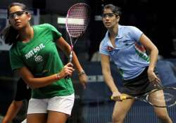 pallikal chinappa set up all indian semifinal in toronto