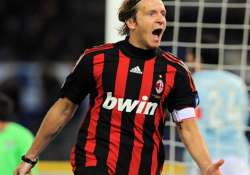 ac milan captain ambrosini down with shoulder injury