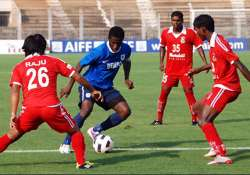 churchill ends dempo s unbeaten run win 2 1