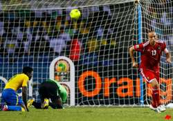 gabon claims dramatic 3 2 win to eliminate morocco