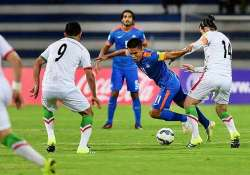 world cup qualifiers india suffer 0 3 thrashing against iran