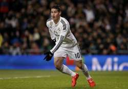 madrid s james rodriguez breaks foot will have surgery