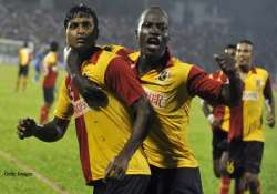 eb looking for hat trick of wins as they take on salgaocar