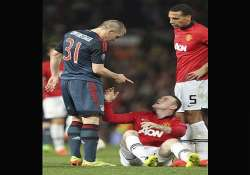 wayne rooney doubtful for bayern munich game with toe injury