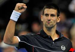 djokovic makes winning return at swiss indoors