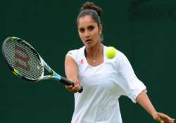 australian open 2015 sania mirza crashes out of women s