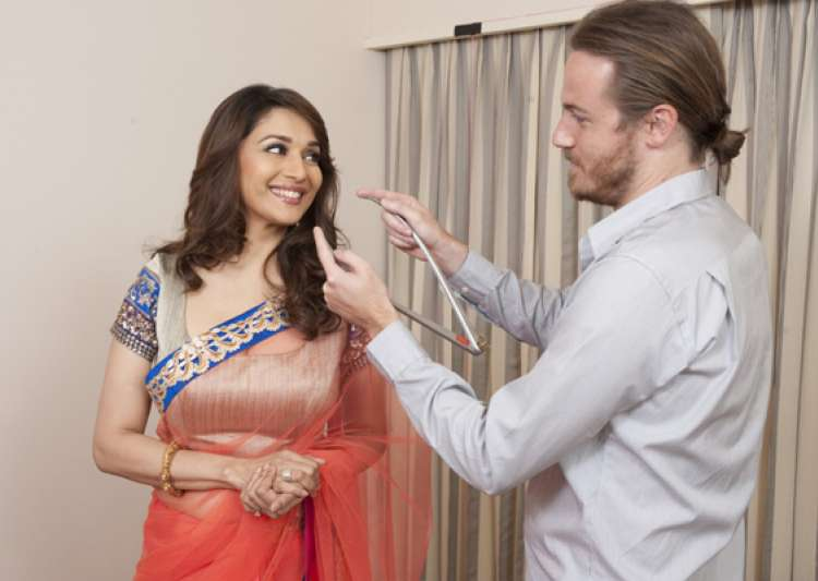 and now madhuri in wax at madame tussauds london- India Tv