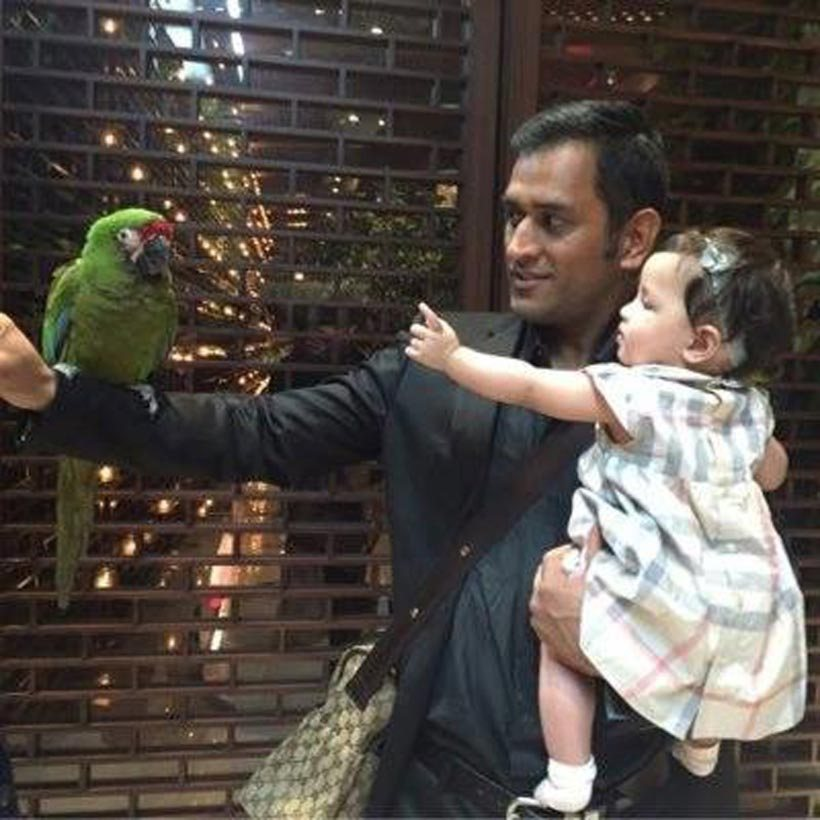 Image result for dhoni and ziva
