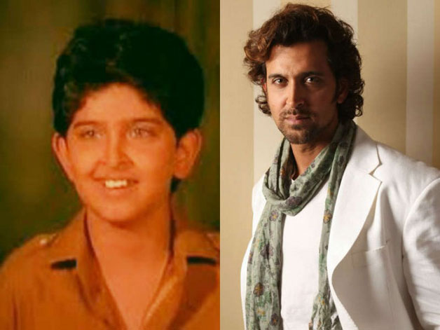 Hrithik Roshan – The actor who became an overnight sensation with his debut in 2000 release 'Kaho Naa Pyaar Hai'. But much before his dream debut, Hrithik had faced the camera in 1986's 'Bhagwan Dada' in which he played the role of Rajinikanth's on-screen son.